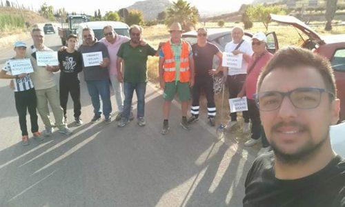 Giornata ecologica per la pulizia della strada che da Montallegro porta alla spiaggia di Bovo Marina