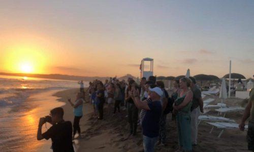 Montallegro, evento Centro Cristiano sulla splendida spiaggia di Bovo marina