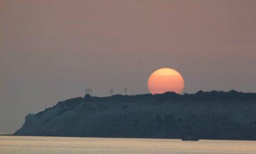 I tramonti della splendida bovo marina