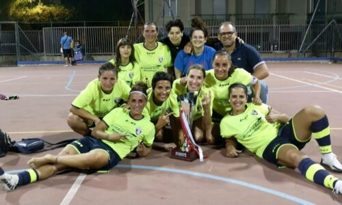 Montallegro, la squadra di calcio a 5 femminile campioni regionali UISP